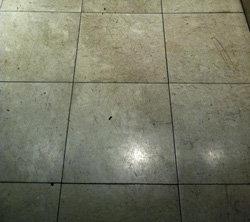 Cleaning Grout Slough